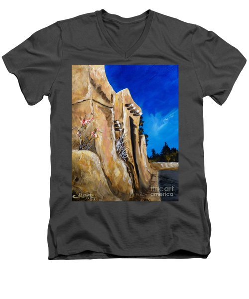 Santa Fe Stroll Men's V-Neck T-Shirt
