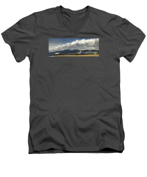 Santa Monica Pier Pan Men's V-Neck T-Shirt