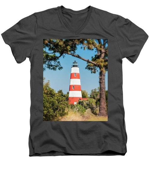 Sapelo Light Men's V-Neck T-Shirt