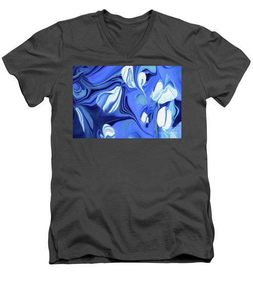 Sapphire Dreams Men's V-Neck T-Shirt