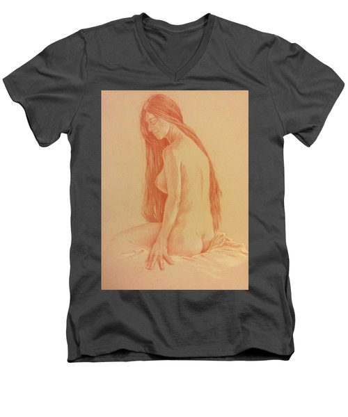 Sarah #2 Men's V-Neck T-Shirt