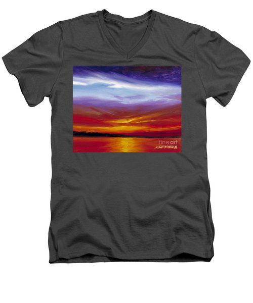 Sarasota Bay I Men's V-Neck T-Shirt