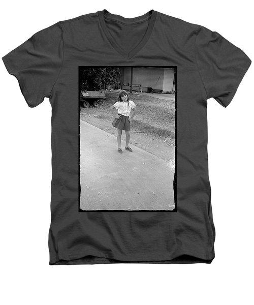 Sassy Girl, 1971 Men's V-Neck T-Shirt