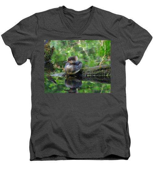 Sassy Girl Men's V-Neck T-Shirt by I'ina Van Lawick