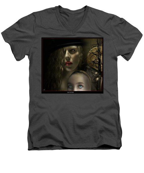 Satiated Men's V-Neck T-Shirt
