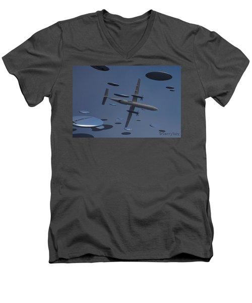 Saucers Men's V-Neck T-Shirt