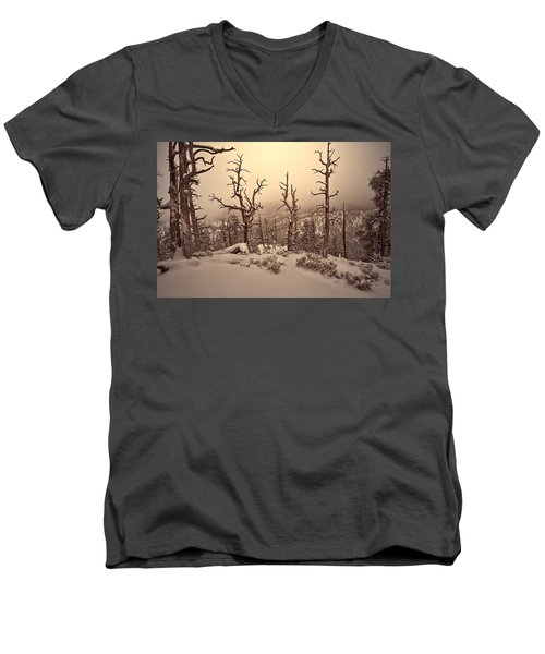 Saving You  Men's V-Neck T-Shirt by Mark Ross