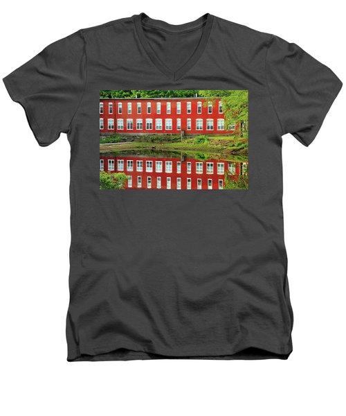 Sawyer Mill Reflection Men's V-Neck T-Shirt