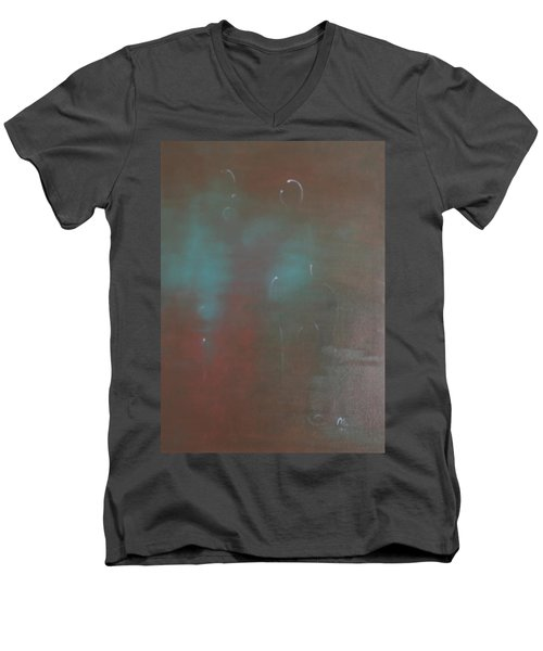 Say Nothing At All Men's V-Neck T-Shirt