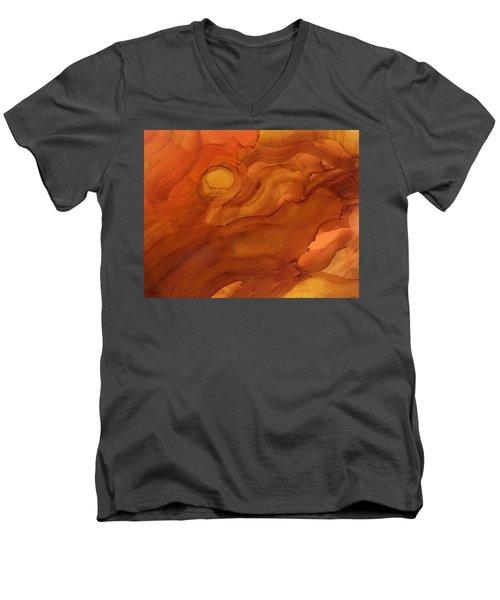Saying Good Night Men's V-Neck T-Shirt