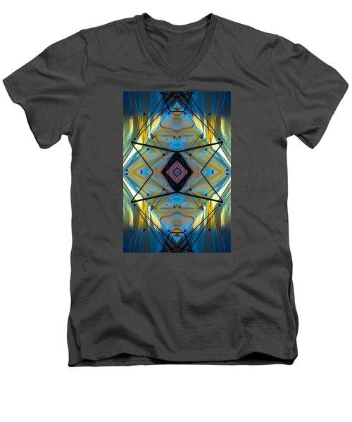 Scaffolding 5275 N69v2 Men's V-Neck T-Shirt