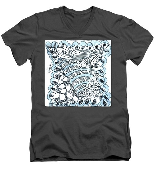 Scallops Men's V-Neck T-Shirt