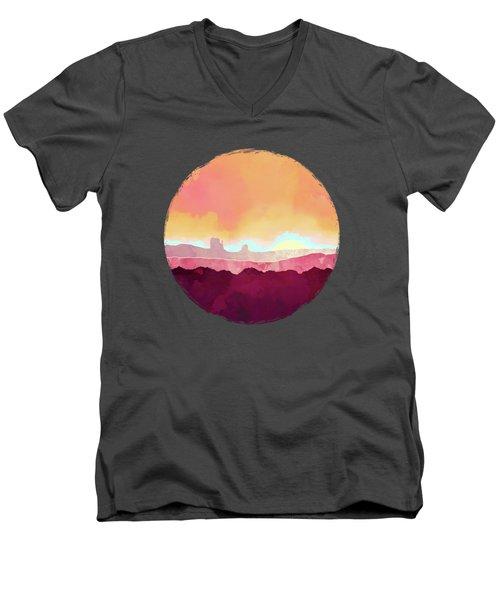 Scarlet Desert Men's V-Neck T-Shirt