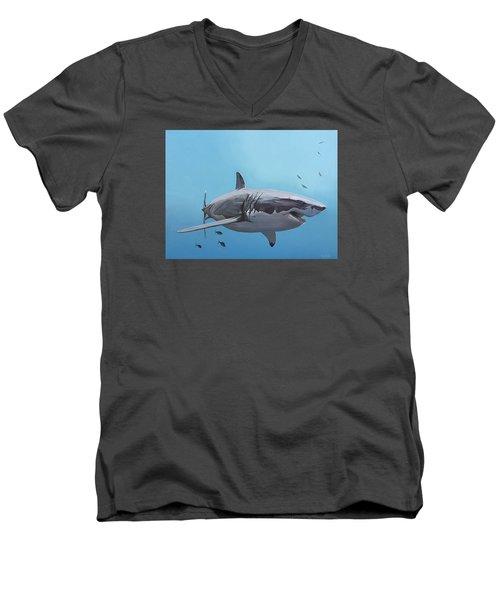 Scarlett Billows Deux Men's V-Neck T-Shirt by Nathan Rhoads