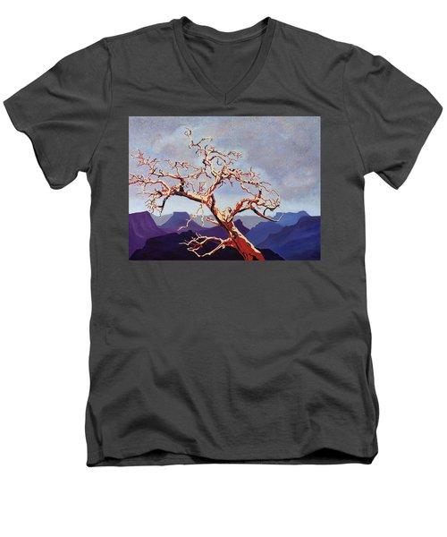 Scarlett's Live Oak Men's V-Neck T-Shirt
