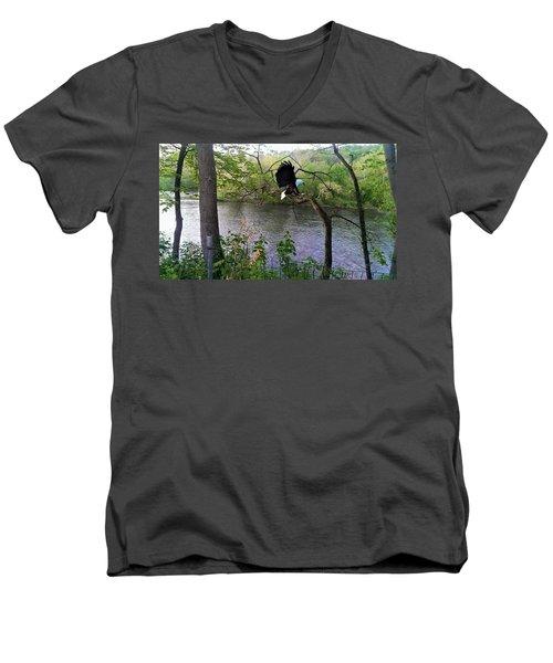 Scary Tree - Memories And Dreams Men's V-Neck T-Shirt