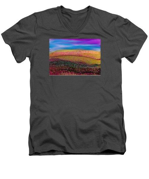Scattered Stigma Men's V-Neck T-Shirt