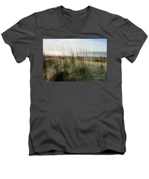 Scene From Hilton Head Island Men's V-Neck T-Shirt