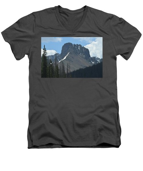 Mountain Scenery Hwy 14 Co Men's V-Neck T-Shirt