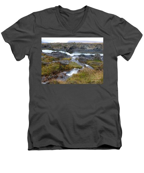 Scenic Intersection Men's V-Neck T-Shirt