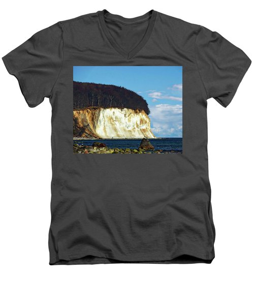 Scenic Rugen Island Men's V-Neck T-Shirt