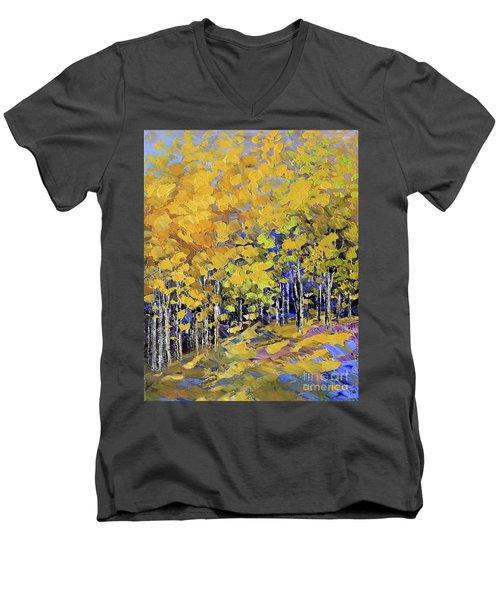 Scented Woods Men's V-Neck T-Shirt