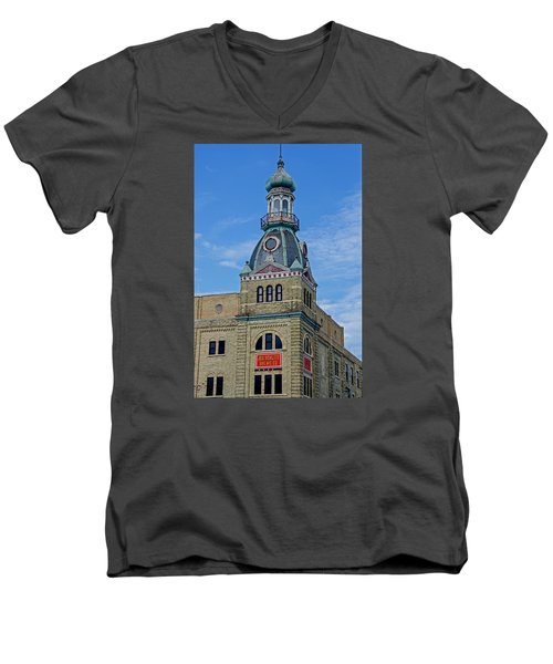 Schlitz Brewing Company 8 Men's V-Neck T-Shirt by Susan  McMenamin