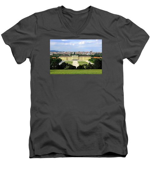 Schloss Schoenbrunn, Vienna Men's V-Neck T-Shirt