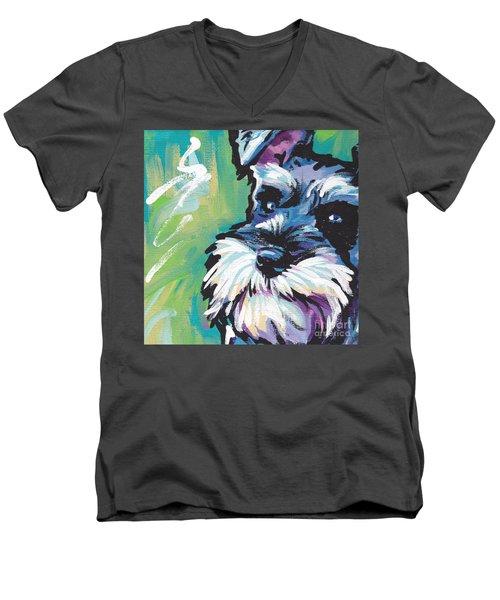 Schnauzer  Men's V-Neck T-Shirt