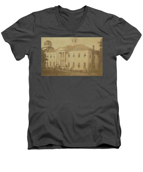 School 1901 Men's V-Neck T-Shirt