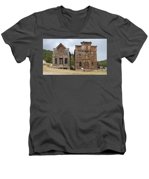 School And Dance Hall Men's V-Neck T-Shirt