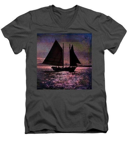 Schooner Mercantile Men's V-Neck T-Shirt