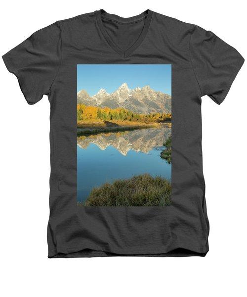 Schwabacher Sunrise 2 Men's V-Neck T-Shirt