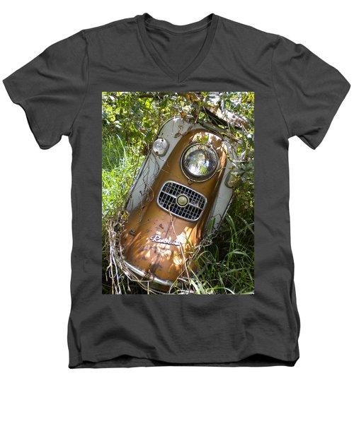Scooter Rabbit Men's V-Neck T-Shirt