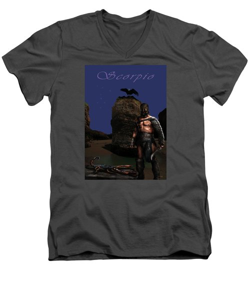 Scorpio Men's V-Neck T-Shirt