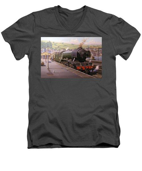 Scotsman At Kingswear Men's V-Neck T-Shirt