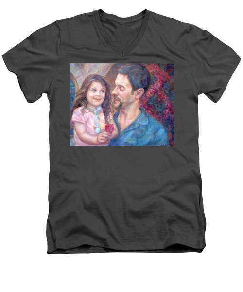 Scott And Sam Commission Men's V-Neck T-Shirt