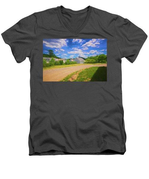 Scott Farm Vista Men's V-Neck T-Shirt