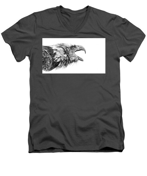 Screaming Eagle Men's V-Neck T-Shirt