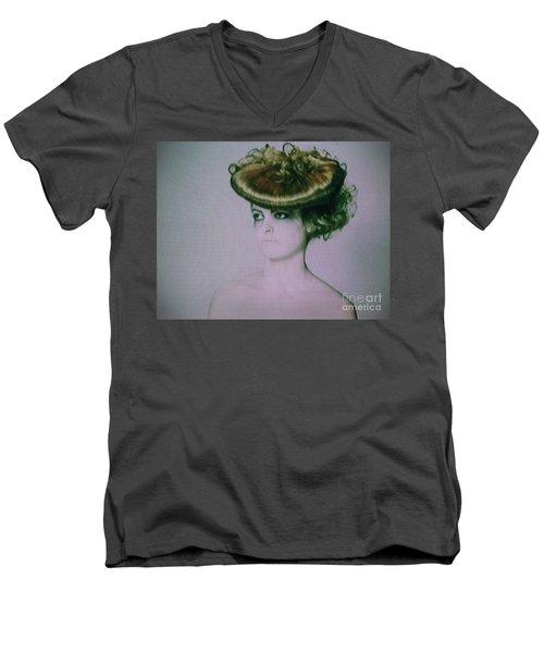 Screen #9222 Men's V-Neck T-Shirt