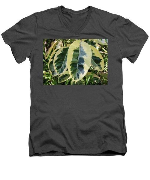 Scribble Scrabble Men's V-Neck T-Shirt
