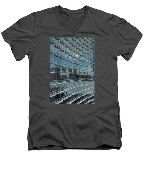 Sculpted Mirrors Men's V-Neck T-Shirt by Michiale Schneider