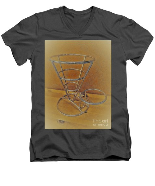 Sculpture  Men's V-Neck T-Shirt