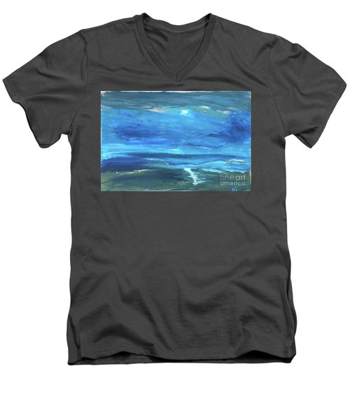 Sea And Sky Men's V-Neck T-Shirt