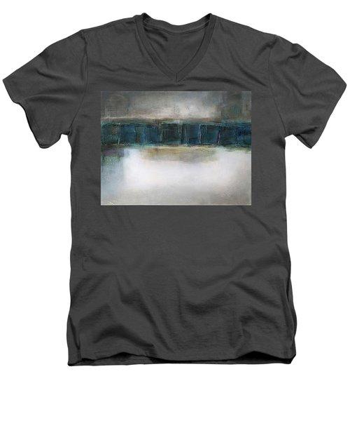 Sea Men's V-Neck T-Shirt by Behzad Sohrabi