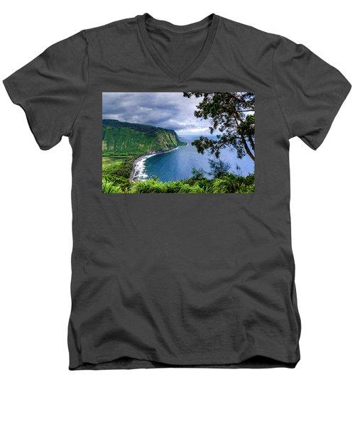 Sea Cliffs Men's V-Neck T-Shirt