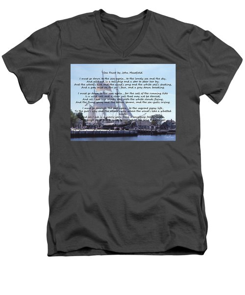 Sea Fever Men's V-Neck T-Shirt