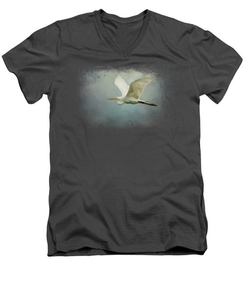 Sea Flight Men's V-Neck T-Shirt