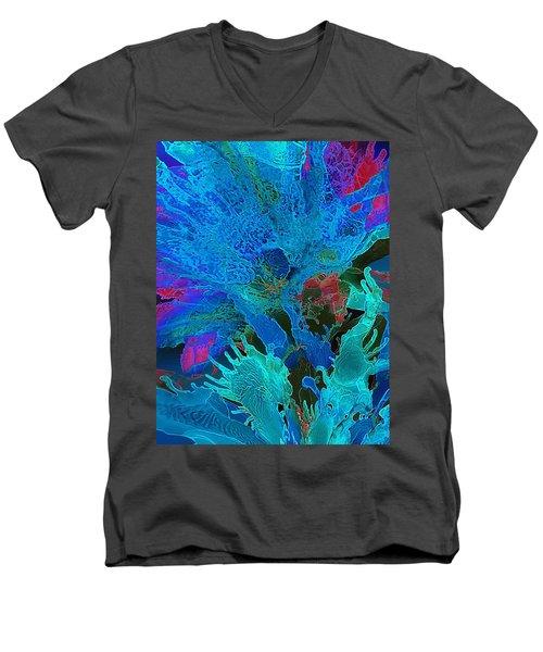 Sea Flower Men's V-Neck T-Shirt