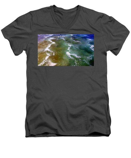 Sea Foam 2 Men's V-Neck T-Shirt
